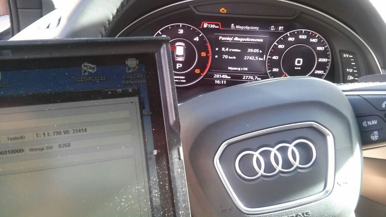 AUDI Q7 4M 2016 3.0 TDI