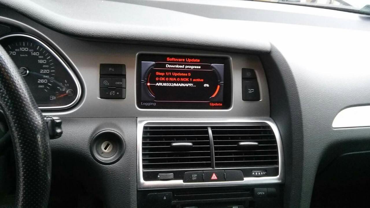 AUDI Q7 POLIFT 3.0 TDI V6 2012