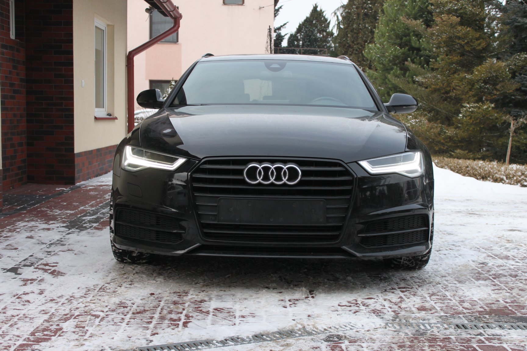 AUDI A6 C7 LIFT 2016 3.0 BiTurbo BLACK Avant